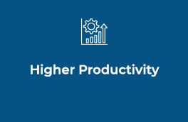 Higher Productivity